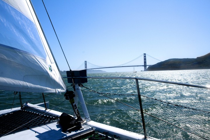 Adventurecat On SF Bay