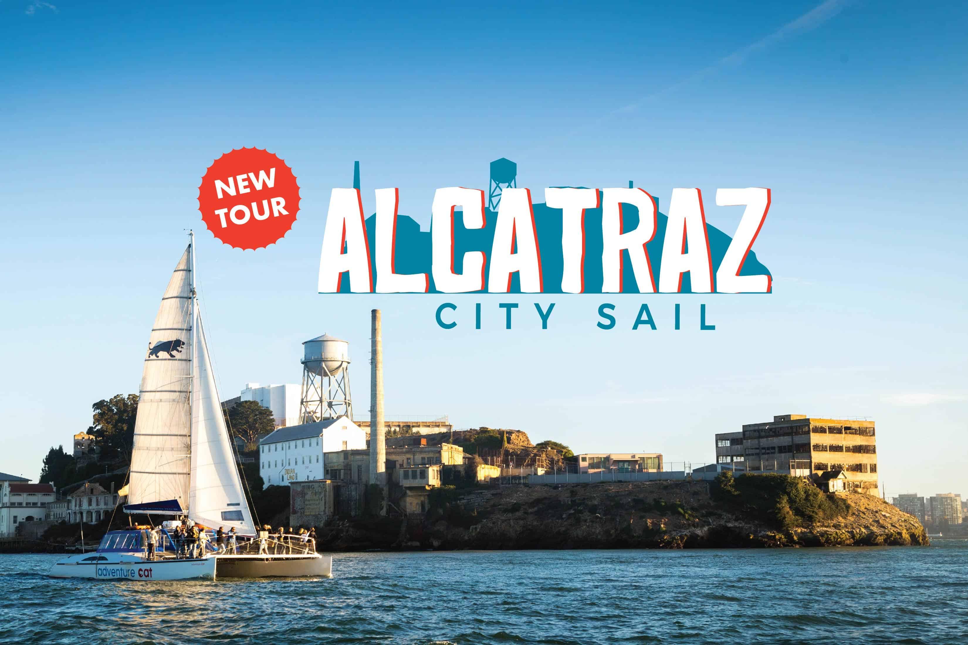 promotional graphic for Alcatraz City Sail