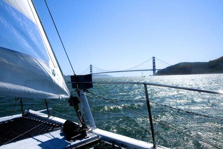 Adventurecat On SF Bay
