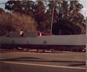 Boat under construction
