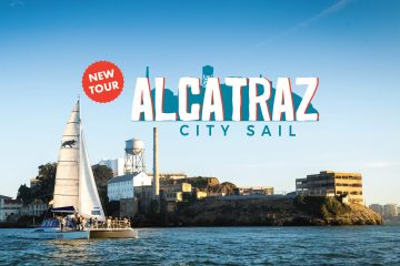 promotional graphic for Alcatraz City Sail